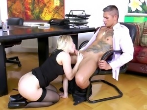 Ash Hollywood is a hot business woman craving a pounding