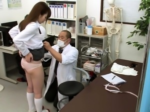 Delightful Japanese babes getting fucked by horny doctors
