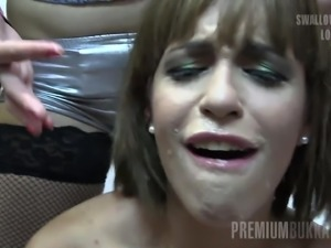 silvana swallows 65 huge mouthful cumshots