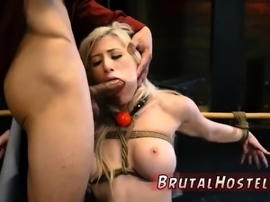 Extreme brutal anal insertion first time Big-breasted