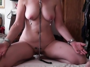Kinky mature wife with big hooters loves pain and pleasure