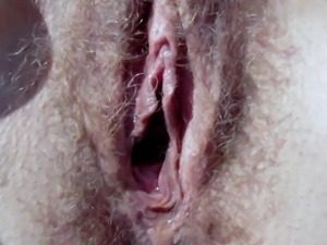 Mature hairy hole