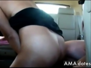 Girl Fucking in Cabela's Parking Lot