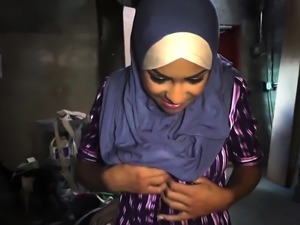 Muslim teen solo and tissues arabic first time The Booty