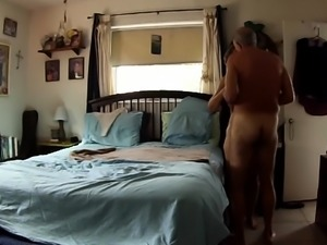 Insatiable blonde housewife eagerly bounces on a hard dick