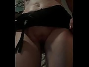 Cheating milf toys with pussy